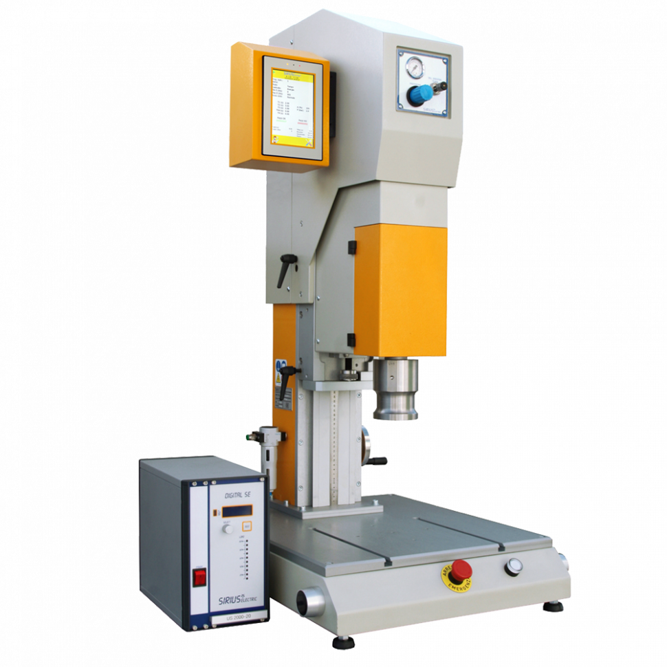 USPM - Sirius Electric Vigevano PV Italia - Macchine saldatura materie plastiche