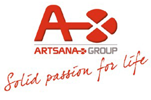 Logo Artsana - Sirius Electric Vigevano PV Italia - Macchine saldatura materie plastiche