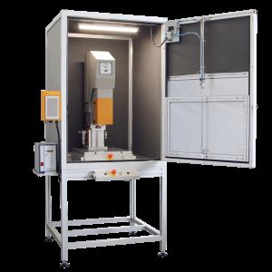 Cabina-US - Sirius Electric Vigevano PV Italia - Macchine saldatura materie plastiche