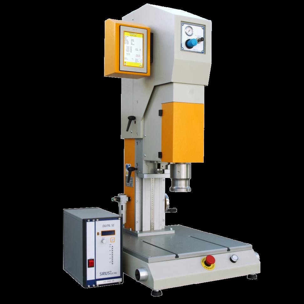 USP APP - Sirius Electric Vigevano PV Italia - Macchine saldatura materie plastiche