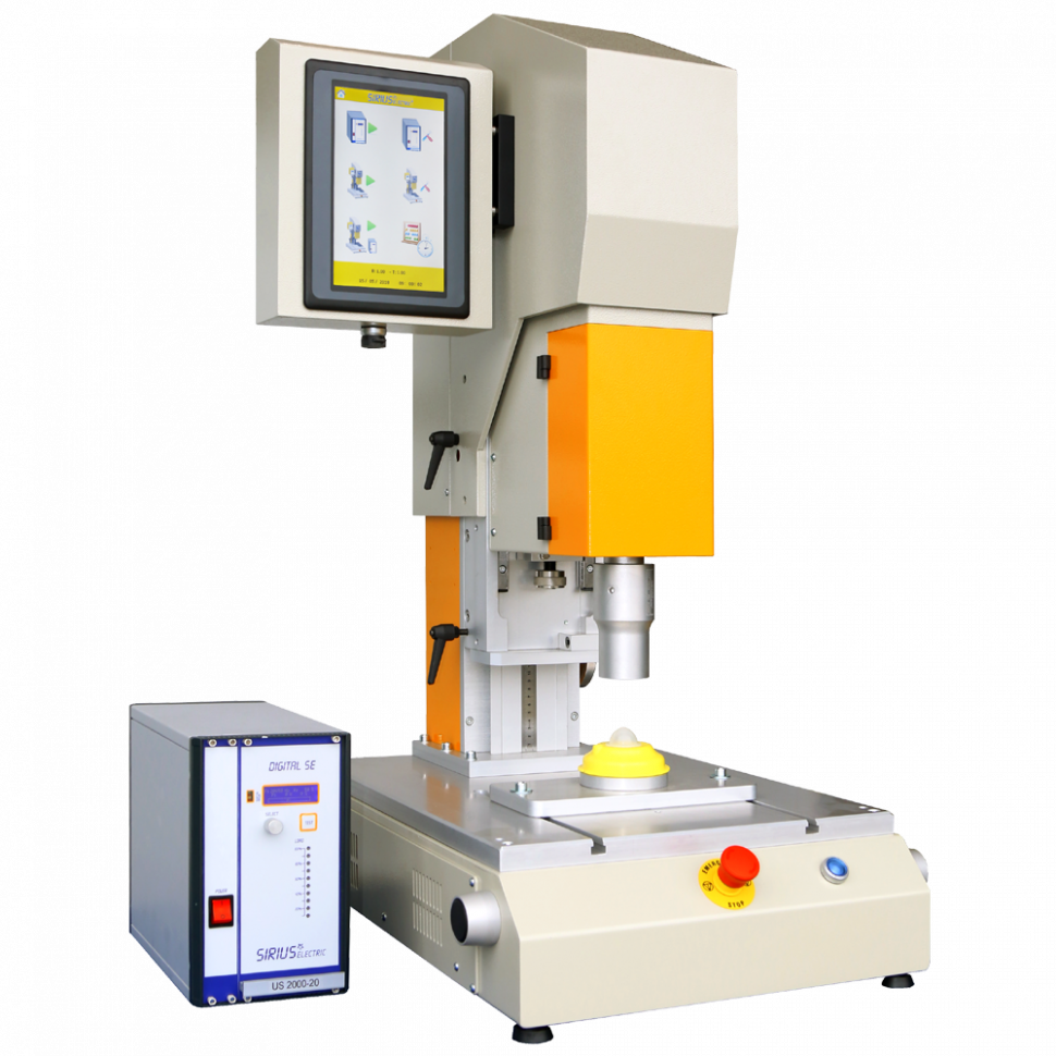 USP-DYNAMIC - Sirius Electric Vigevano PV Italia - Macchine saldatura materie plastiche